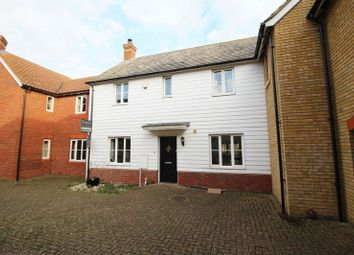 Thumbnail 3 bed terraced house for sale in Stocker Way, Eynesbury, St Neots.