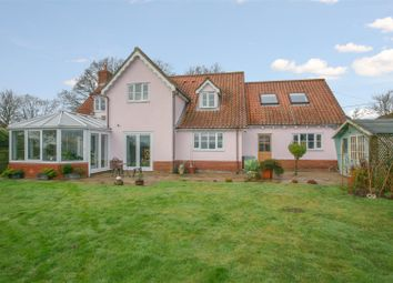 Thumbnail 4 bed detached house for sale in Burgh, Woodbridge