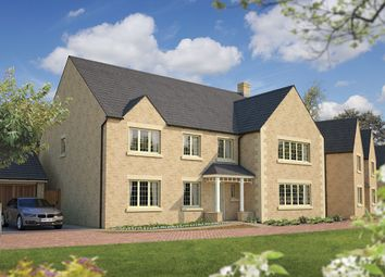 "Thumbnail 6 bed detached house for sale in ""The Exeter"" at Dowding Close, Upper Rissington, Cheltenham"
