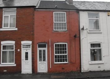 Thumbnail 2 bed terraced house to rent in Hawthorne Street, Chesterfield, Derbyshire
