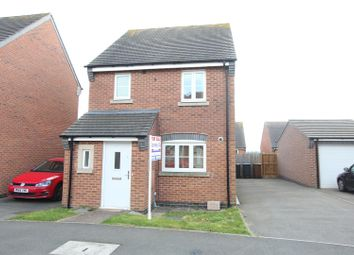 Thumbnail 3 bed detached house for sale in Omaha Drive, Hinckley