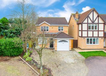 Thumbnail 3 bed detached house for sale in Keats Drive, Kettering