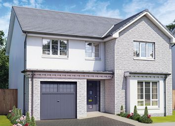 "Thumbnail 4 bed detached house for sale in ""The Tummel"" at Dale Avenue, Cambuslang, Glasgow"