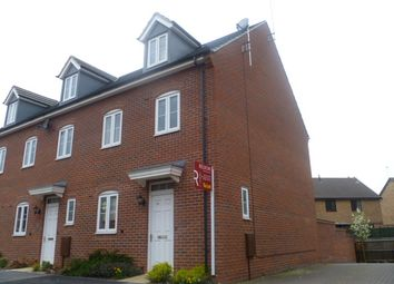 Thumbnail 3 bed town house to rent in Widdowson Road, Long Eaton