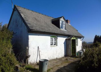 Thumbnail Cottage for sale in Figyn Cottage And Land, Maesmawr, Welshpool, Powys