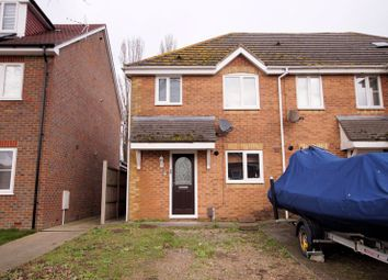 Thumbnail 3 bed end terrace house for sale in Shorehaven, Cosham, Portsmouth