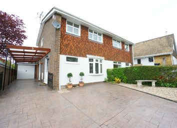 Thumbnail 3 bed semi-detached house for sale in Waterside Close, Rogerstone, Newport