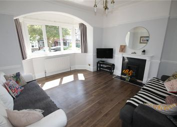 Thumbnail 3 bed semi-detached house for sale in Hilldown Road, London
