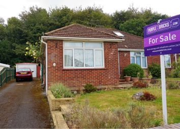 Thumbnail 2 bed semi-detached bungalow for sale in Rogers Road, Bishopstoke, Eastleigh
