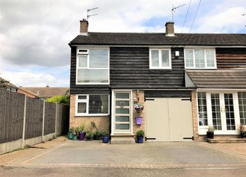 Thumbnail 4 bed end terrace house for sale in Orchard Close, Stanstead Abbotts, Ware