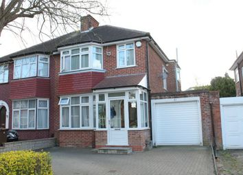 Thumbnail 3 bed semi-detached house to rent in Bromefield, Stanmore, Middlesex