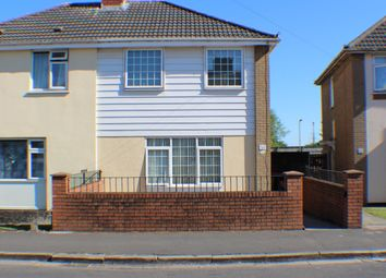 Thumbnail 2 bedroom semi-detached house for sale in Maesglas Crescent, Newport