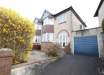 Thumbnail 3 bedroom semi-detached house for sale in Hill Grove, Henleaze, Bristol