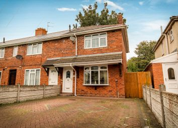 Thumbnail 2 bedroom end terrace house for sale in Bedford Street, Wolverhampton