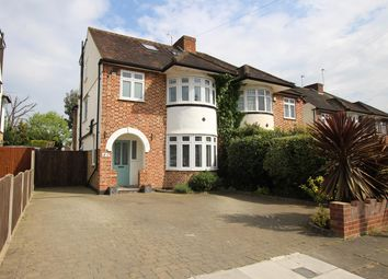 Thumbnail 4 bed semi-detached house for sale in Conway Gardens, Enfield