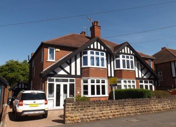 Thumbnail 3 bed semi-detached house for sale in Selby Road, West Bridgford, Nottingham