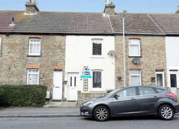 Thumbnail 2 bed terraced house to rent in Manor Road, Dover
