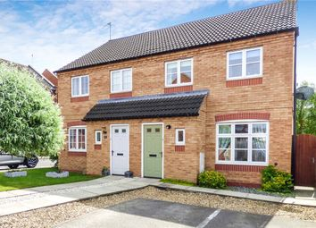 Thumbnail 3 bed semi-detached house for sale in Simons Drive, Sileby, Loughborough, Leicestershire