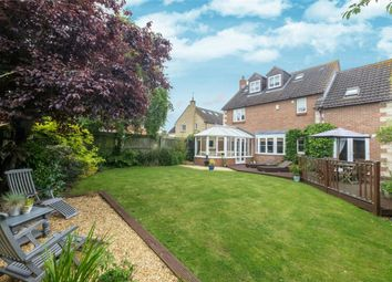 Thumbnail 4 bedroom detached house for sale in St. Giles Close, Holme, Peterborough