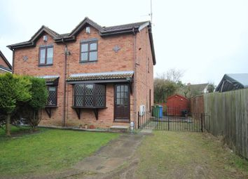 Thumbnail 2 bed terraced house to rent in Grassam Close, Preston, Hull