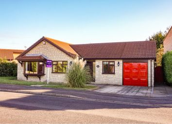 Thumbnail 4 bed detached bungalow for sale in Hibaldstow Close, Lincoln