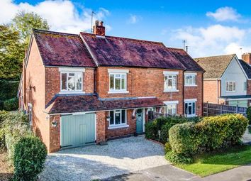Thumbnail 3 bed semi-detached house for sale in Pershore Road, Little Comberton, Pershore, Worcestershire
