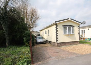 Thumbnail 2 bedroom mobile/park home for sale in Water End Park, Old Basing, Basingstoke