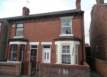 Thumbnail 2 bed semi-detached house to rent in Edward Road, Eastwood, Nottingham