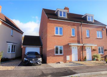 Thumbnail 4 bed semi-detached house for sale in Attlebridge Way Kingsway, Quedgeley, Gloucester