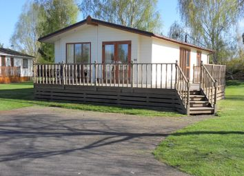 Thumbnail 2 bed lodge for sale in Wentworth Drive, Kirkgate, Tydd St Giles, Wisbech, Cambridgeshire