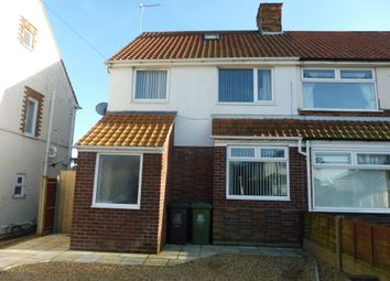 Thumbnail 3 bed semi-detached house for sale in Beccles Road, Gorleston, Great Yarmouth