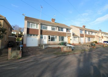 Thumbnail 4 bed semi-detached house for sale in Leigh View Road, Portishead, North Somerset