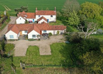 Thumbnail 4 bed detached house for sale in High Common, Cranworth, Thetford