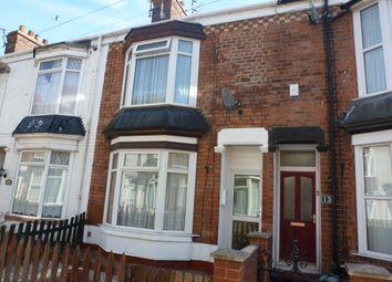 Thumbnail 2 bed terraced house to rent in Dene Street, Hull