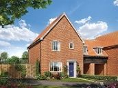 Thumbnail 3 bed detached house for sale in Nightingale Meadows, Leiston
