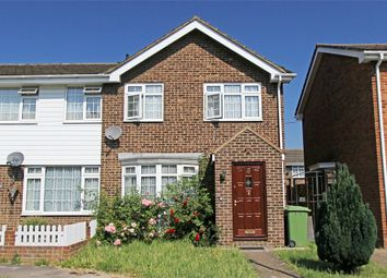 Thumbnail 3 bedroom end terrace house for sale in Periwinkle Close, Sittingbourne, Kent