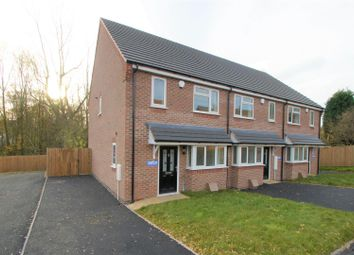 Thumbnail 3 bed end terrace house to rent in Galley Close, Cannock