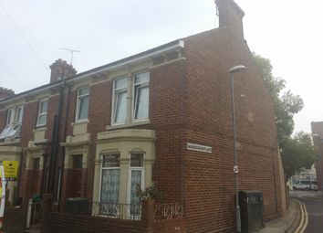 Thumbnail 5 bed end terrace house to rent in Sandringham Road, Portsmouth