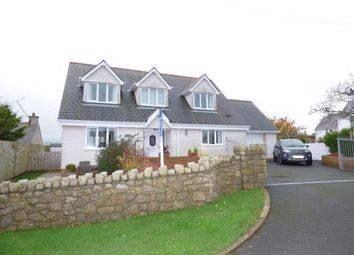 Thumbnail 4 bedroom detached house for sale in Bodedern, Holyhead, Sir Ynys Mon