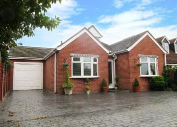 Thumbnail 4 bedroom detached bungalow for sale in Walsall Wood Road, Walsall