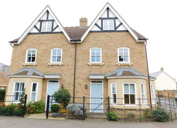 Thumbnail 4 bed semi-detached house to rent in Bronte Avenue, Stotfold, Hitchin