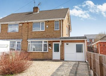 Thumbnail 3 bed semi-detached house for sale in Tournament Road, Glenfield, Leicester, Leicestershire