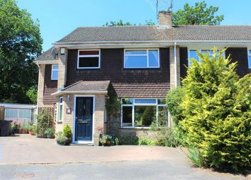 Thumbnail 4 bed semi-detached house for sale in Mytchett, Camberley