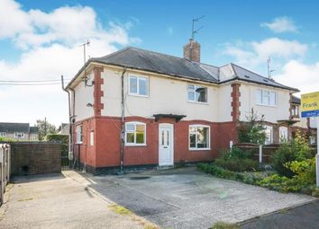 Thumbnail 3 bed semi-detached house for sale in Vernon Road, Chesterfield, Derbyshire