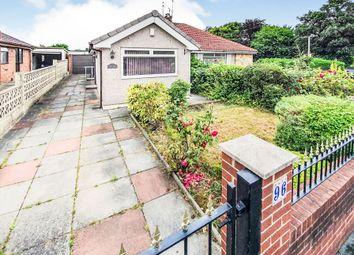 Thumbnail 2 bed semi-detached bungalow for sale in Church Lane, Great Sutton, Ellesmere Port