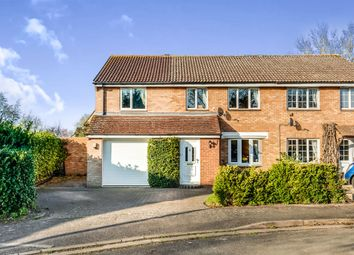 Thumbnail 4 bed semi-detached house for sale in Marsh Close, Yarnton, Kidlington