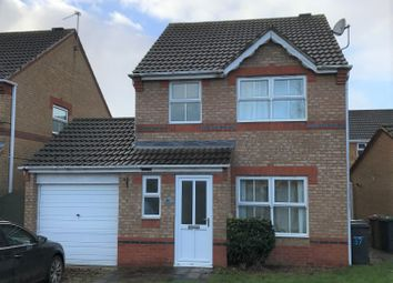 Thumbnail 3 bed detached house to rent in Fox Covert, South Hykeham, Lincoln