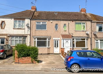 Thumbnail 3 bed terraced house for sale in Lord Lytton Avenue, Coventry