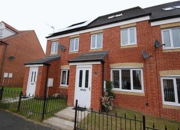 Thumbnail 3 bed terraced house for sale in Harrington Way, Seaton Vale, Ashington