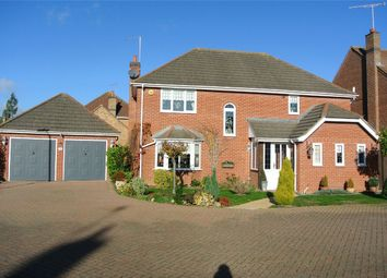 Thumbnail 4 bed detached house for sale in Appian Way, Baston, Peterborough, Cambridgeshire